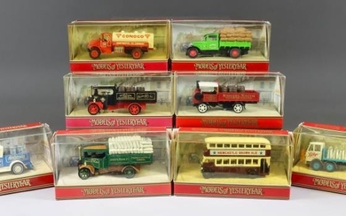 """A Collection of Matchbox """"Models of Yesteryear"""" Diecast Models..."""
