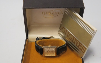 A Gent's LONGINES Gold Plated Dress Watch, 370 movement no. ...