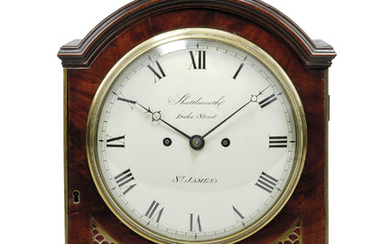A REGENCY GILT-BRASS MOUNTED MAHOGANY STRIKING TABLE CLOCK, SHUTTLEWORTH, ST. JAMES'S, LONDON, EARLY 19TH CENTURY