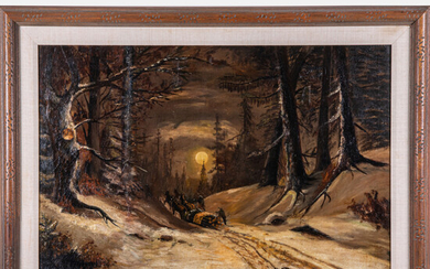 Adolf Vogel, (b. 1895) - Winter Scene