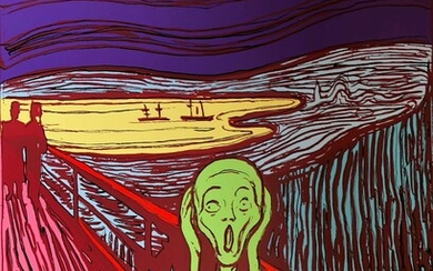 Andy Warhol (1928-1987)(after) The Scream (Sunday B. Morning) (set of three)