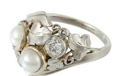 Attributed to Edward Everett Oakes ladies ring
