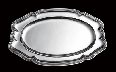 BOIN-TABURET 3pc. ANTIQUE FRENCH 950 STERLING SILVER
