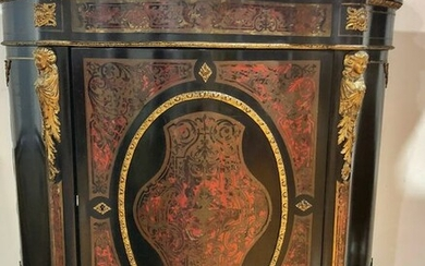 Cabinet - Napoleon III Style - wood and bronzes in Boulle style - Late 19th century