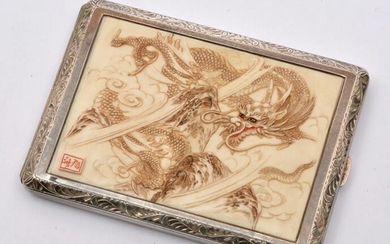 Chinese Sterling Silver Cigarette Case