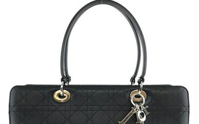 Christian Dior Lady Dior Cannage East West Tote Bag
