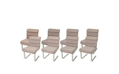 Eight (8) Mariani for Pace Side Chairs