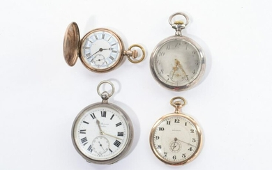 FOUR POCKET WATCHES