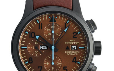 Fortis - B-42 Blue Horizon Chronograph PVD Limited Edition - 656.18.95 L.18 - Men - 2011-present