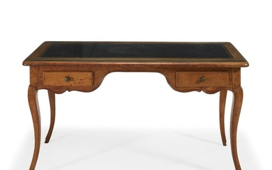 French Provincial fruitwood writing desk 19th century Having a...