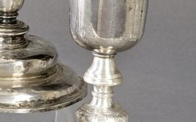 French silver goblet punched Law 925, Paris Revolution