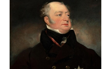 JOHN JACKSON R.A. (BRITISH 1778-1831) PORTRAIT OF FREDERICK, DUKE OF YORK AND ALBANY