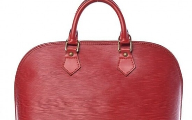 Louis Vuitton - Epi Alma PM Castilian Red Clutch bag