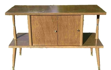 MIDCENTURY MODERN CONSOLE TABLE