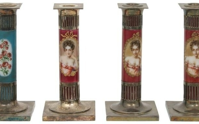 Pairpoint Silver Plated Candlesticks
