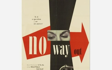 Paul Rand, No Way Out poster