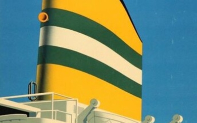 """[Posters. Ships]. Dirksen, R. (1924-1999). """"Holland-America Line. S.S...."""