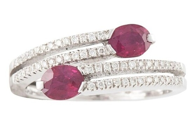 RING OF DIAMONDS AND RUBIES.