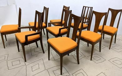 Set 8 Plus 1 BROYHILL Brasilia Dining Chairs. 1 with op
