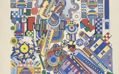 Sir Eduardo Paolozzi CBE RA, Scottish 1924-2005-...