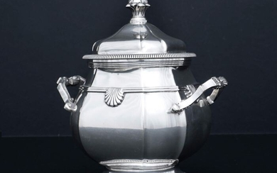 Sugar bowl (1) - .800 silver - Europe - Early 20th century