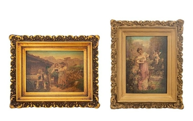 Two Continental Miniature Paintings