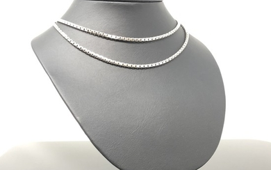 Venezia chain in white gold