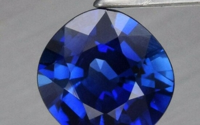 0.38 ct. Natural Unheated Blue Sapphire - NIGERIA