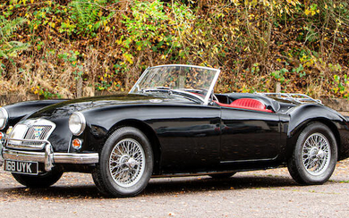 1959 MG A 1600 Roadster, Registration no. 168 UYK Chassis no. GHNL74583
