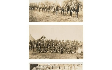 24th Infantry and 10th Cavalry During Mexican Border