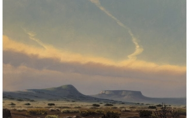 76048: Wilson Hurley (American, 1924-2008) Mesa in the