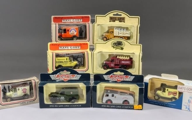 A Collection of Lledo Diecast Vehicle Models and Promotion...