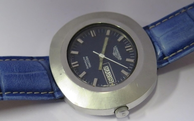 A Gent's Longines Stainless Steel RECORD Automatic Oversize ...