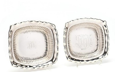 A Pair of Sterling Silver Serving Dishes by Whiting