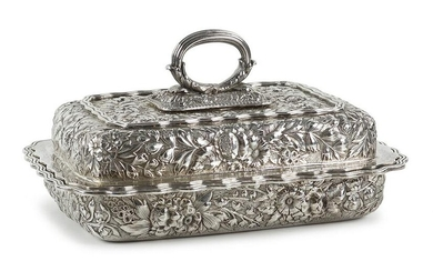 A Tiffany & Company Sterling Silver Vegetable Dish.