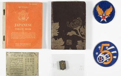 ARMY AIR CORPS JAPANESE RELIC GROUP