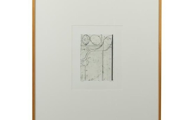 Abstract Engraving - Signed