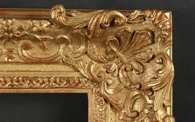 "An Early 20th Century Gilt Composition Frame, 15"" x 22"""