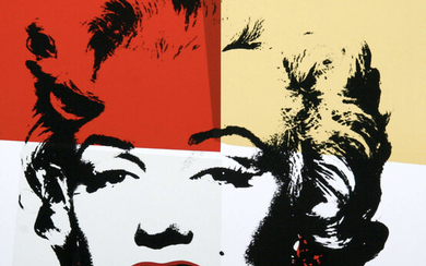 Andy Warhol (1928-1987)(after) Marilyn (Sunday B. Morning) (set of ten)