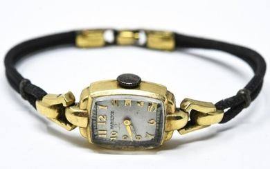 Antique 14kt Yellow Gold Ladies Watch by Hamilton