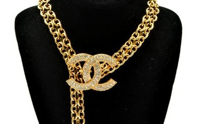Chanel Chain Link Convertible Necklace / Belt