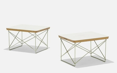 Charles and Ray Eames, LTRs, pair