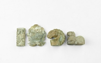 Chinese Agate Carving Group