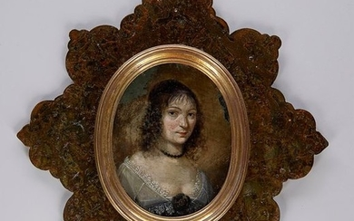 "Dutch school circa 1615: ""Portrait of a woman..."