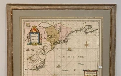 G. Valk and P. Schenk Map of New England