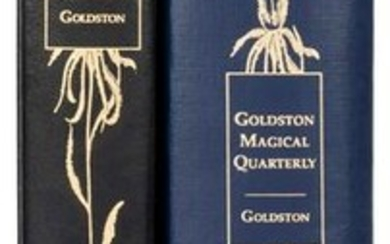 Goldston, Will. Goldston's Magical Quarterly / The