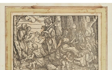 HANS WEIDITZ (GERMAN C.1495 - 1537) DOUBLE SIDED WOODCUT