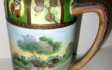 Hand Painted Nippon Stein