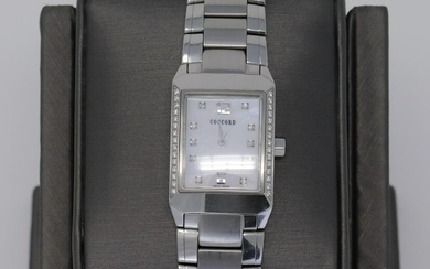 Ladies CONCORD CARLTON Diamonds Stainless Case &