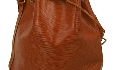 Louis Vuitton Brown Epi Leather Bucket Bag